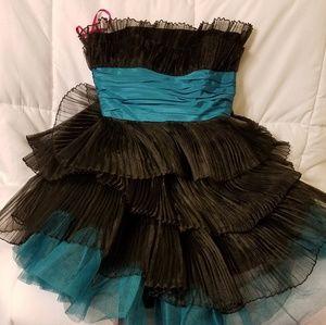 Betsey Johnson Strapless Cupcake Dress